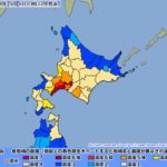 【函館市】地震の影響や状況は?停電や断水やガスの復旧はいつ?